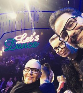 Besuch bei Lets Dance